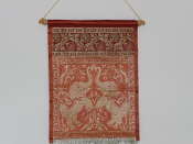 Brocade wall hanging - Medium